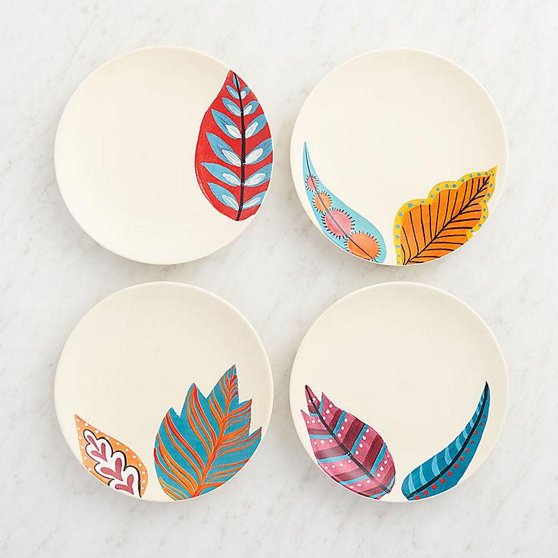 Leaves Plates