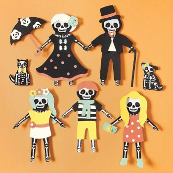 Skeleton<br>Paper Dolls