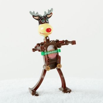 Dancing Reindeer Wind Up Toy