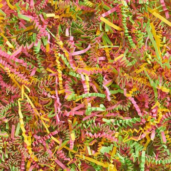 Multi-colored Shredded Paper Grass
