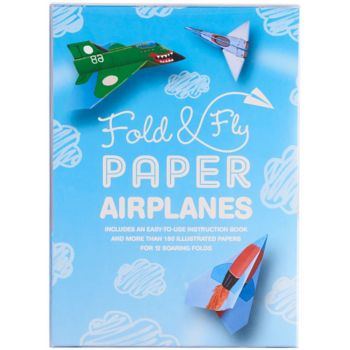 Fold & Fly Paper Planes Book